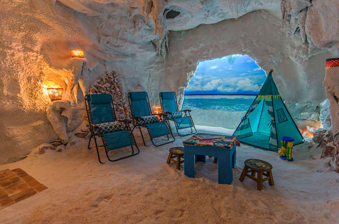 Children S Salt Cave Salt Therapy Grotto In Naples Fl